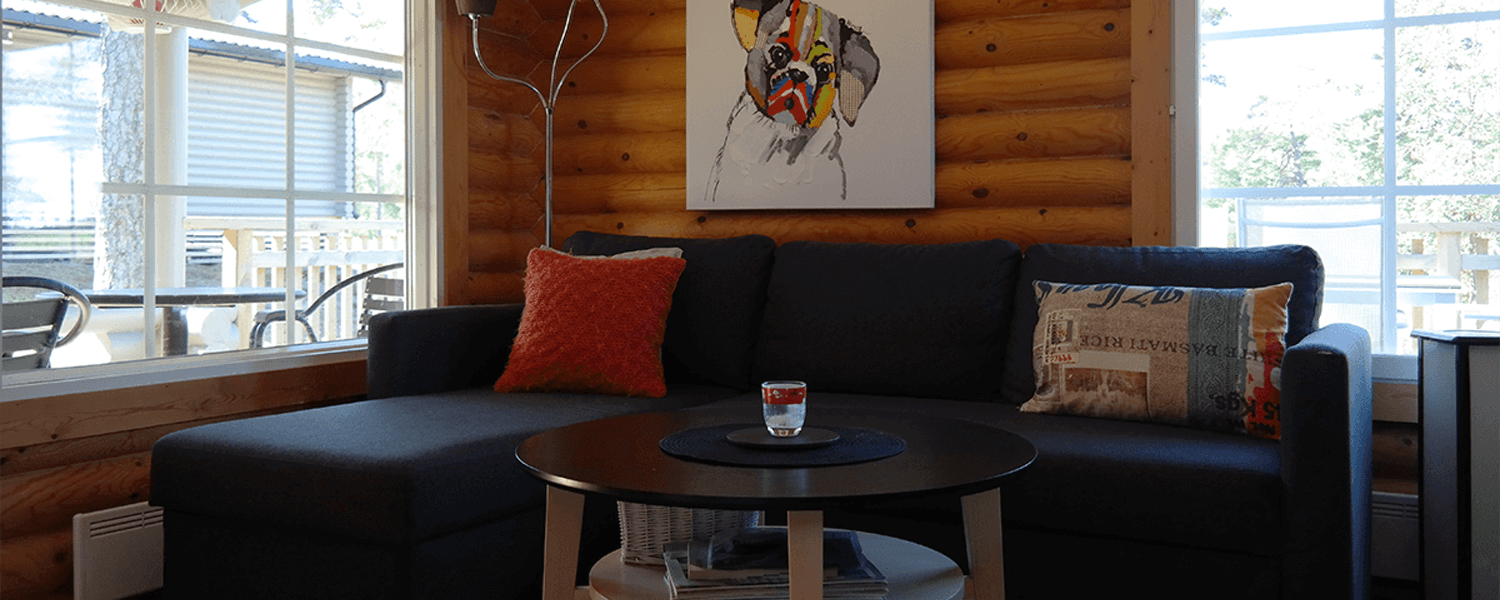 Bastö Hotel Luxury Cabin – Living